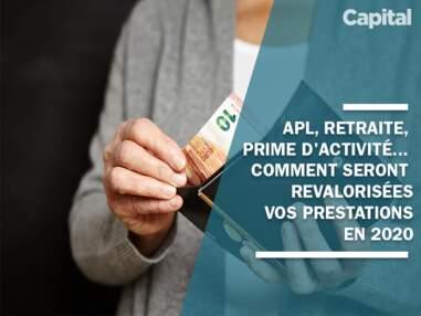 APL, retraite, prime d'activité... comment seront revalorisées vos prestations sociales en 2020