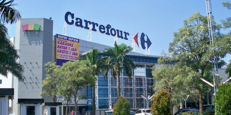 """Bons chiffres et """"solide dynamique"""" pour Carrefour au premier semestre"""