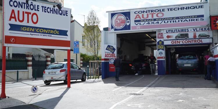 Les automobilistes français boudent le contrôle technique