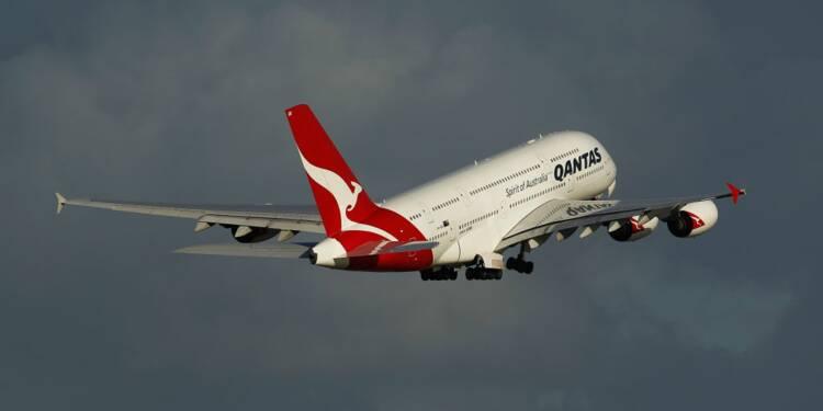 """Qantas veut proposer des trajets en avion """"zéro carbone"""" d'ici 2050"""