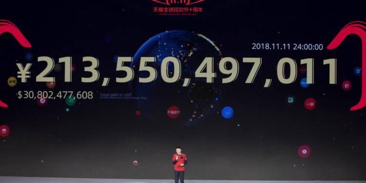 """Un milliard en 68 secondes : la """"Fête des célibataires"""" cartonne en Chine"""