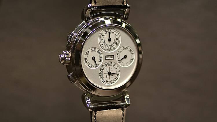 La montre la plus chère du monde a été vendue aux enchères en Suisse