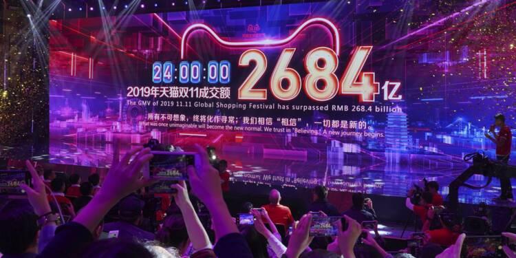 """Alibaba bat son record de ventes pour la """"fête des célibataires"""""""