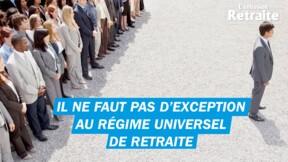 Retraite : un régime universel pour certains et exceptionnel pour d'autres serait injuste, selon le président de la CPME