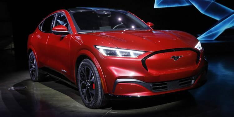 Ford dévoile la Mustang Mach-E, son SUV 100% électrique