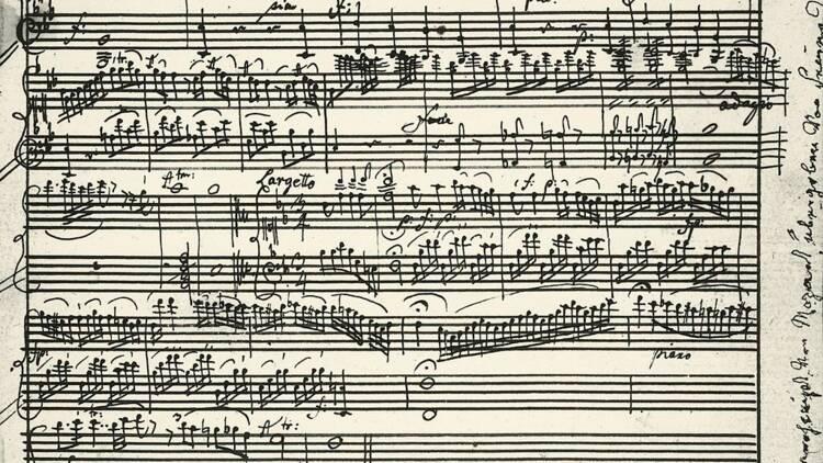 Une partition de Mozart vendue aux enchères pour une petite fortune