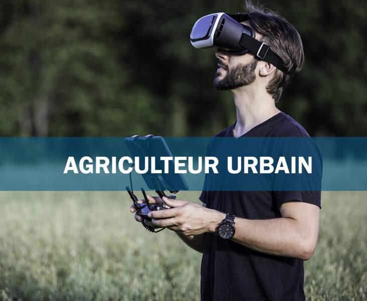 Agriculteur urbain : le fermier des toits-terrasses