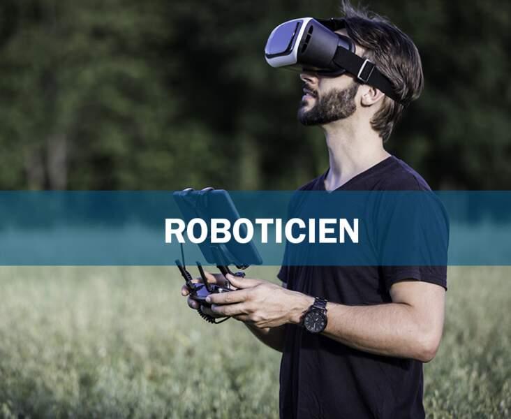 Roboticien : le programmeur d'automates