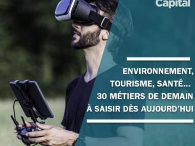 Environnement, tourisme, santé... 30 métiers de demain à saisir dès aujourd'hui