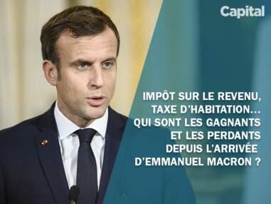Impôt sur le revenu, taxe d'habitation… Qui sont les gagnants et les perdants depuis l'arrivée d'Emmanuel Macron ?