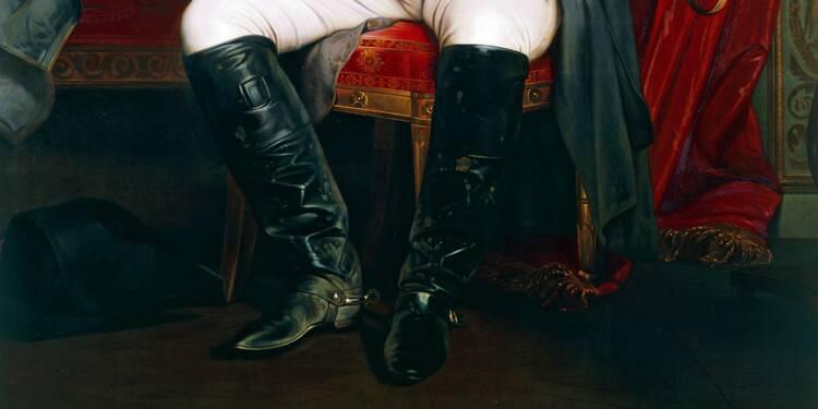 La paire de bottes de Napoléon adjugée vendue à 117.000 euros