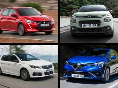 Les 10 voitures les plus vendues en France en novembre 2019