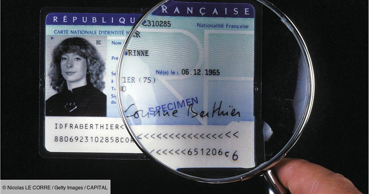 nouvelle carte d identité française format cb Des cartes d'identité au format carte bancaire dès 2021   Capital.fr