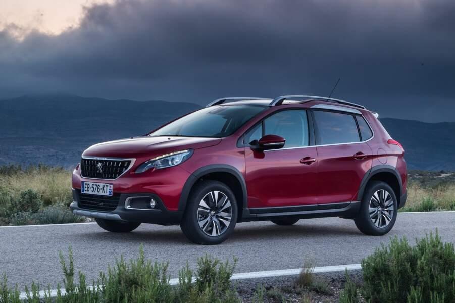 9 - Peugeot 2008 (3.650 ventes)