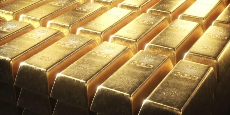 L'or profite de son statut de valeur refuge face à la chute des actions