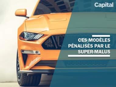 """Ces modèles qui pourraient être pénalisés par le """"super-malus"""" automobile"""