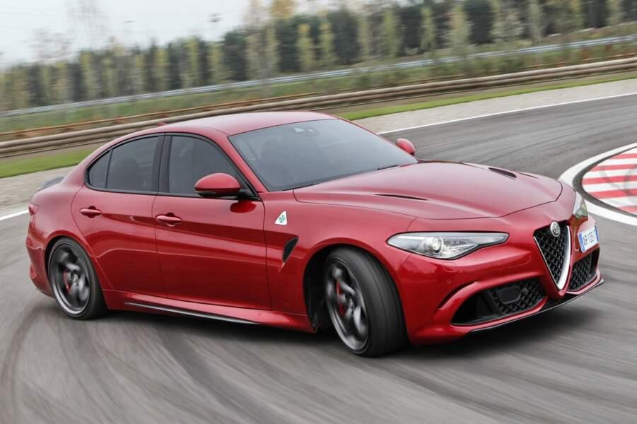 Alfa Romeo Giulia et Stelvio QV