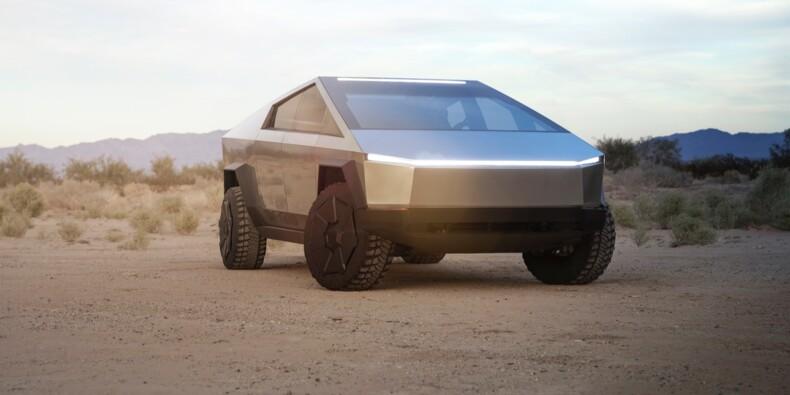 Le Cybertruck de Tesla déjà réservé par des services de police