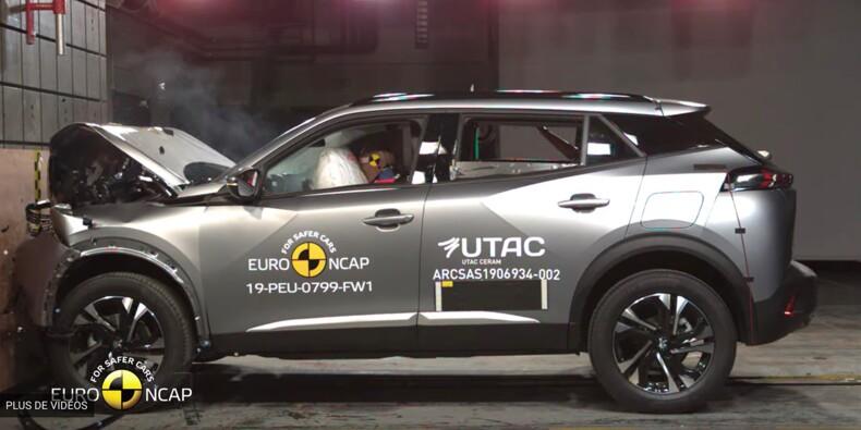 Les nouveaux Peugeot 2008 et Renault Captur passent aux crash-tests Euro NCAP