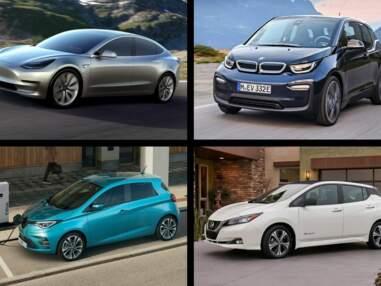 Les 10 voitures électriques les plus vendues en France en novembre