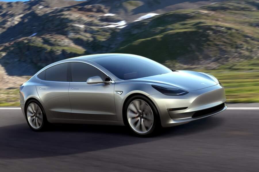 4 - Tesla Model 3 (225 unités)