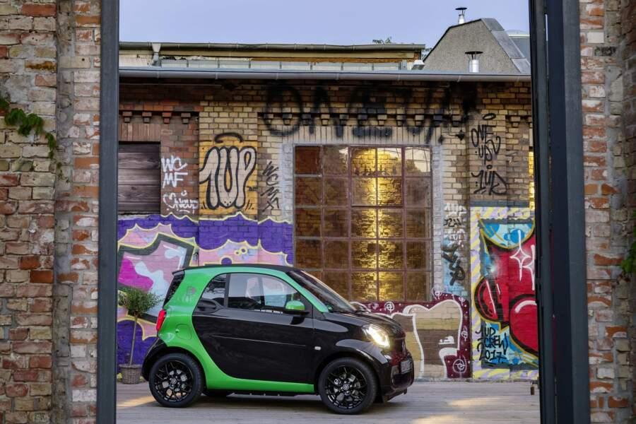 5 - Smart Fortwo Electric Drive (106 unités)