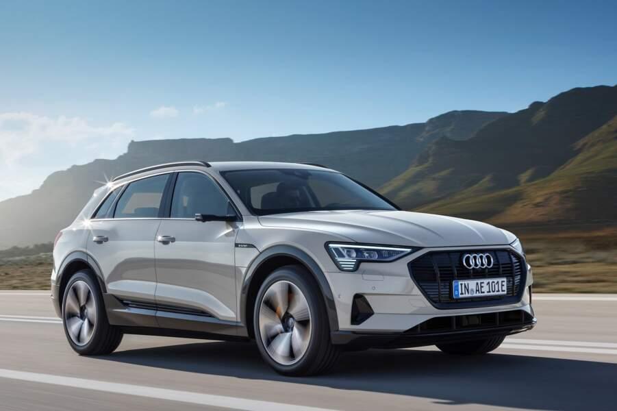 10 - Audi e-tron (31 unités)