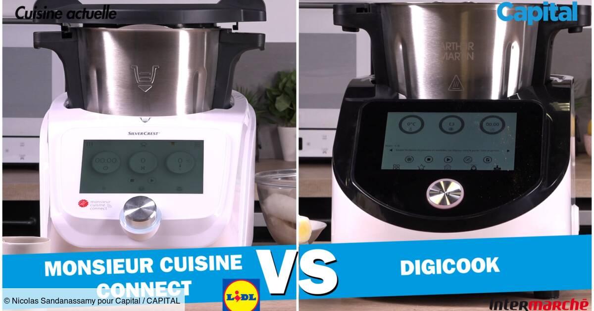 Digicook D Intermarche Vs Monsieur Cuisine Connect De Lidl Le