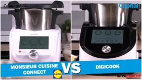 Digicook d'Intermarché vs. Monsieur Cuisine Connect de Lidl: le match des rivaux de Thermomix