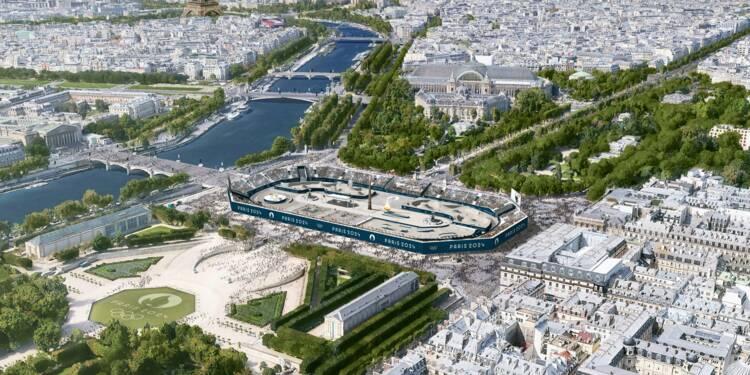 Un stade de 35.000 sièges place de la Concorde... durant les JO 2024