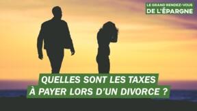 L'Etat peut-il taxer un divorce ?