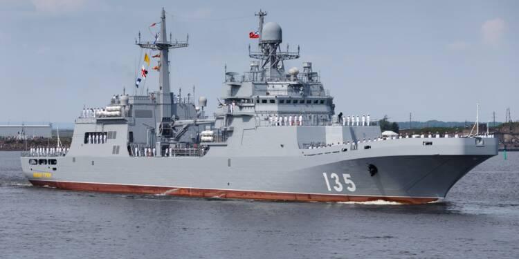 La Russie finalise la construction d'un nouveau bateau d'assaut amphibie