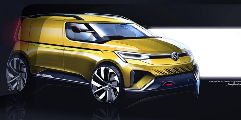 Volkswagen donne un aperçu du nouveau Caddy 2020