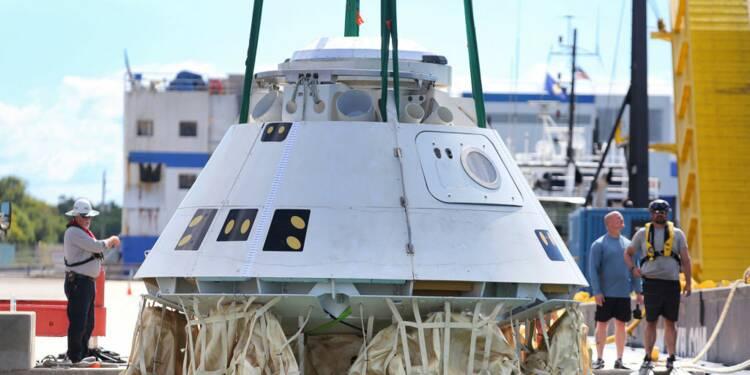 Échec majeur pour Boeing : sa capsule Starliner va revenir sur Terre