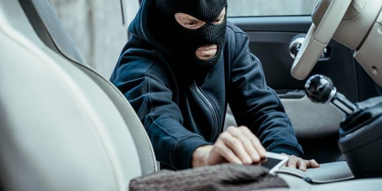 Une voiture volée retrouvée grâce au smartphone qui se trouvait à l'intérieur