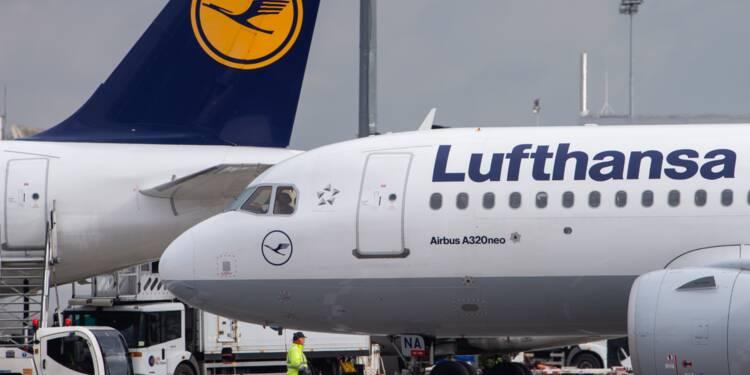 Lufthansa : le personnel de cabine menace d'une nouvelle grève après Noël