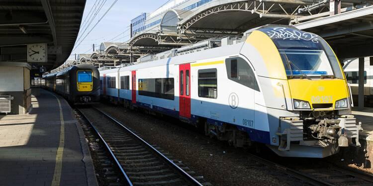 La compagnie ferroviaire belge sauve le Noël d'un passager tête en l'air