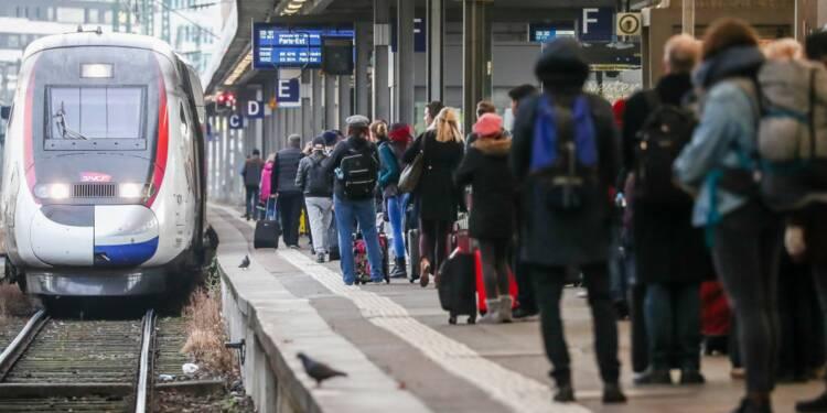 Grève SNCF : un TGV sur deux maximum pour la semaine du nouvel an