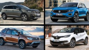 Les 10 SUV les plus vendus en France en 2019