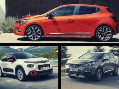 Les 10 voitures les plus vendues en France en 2019