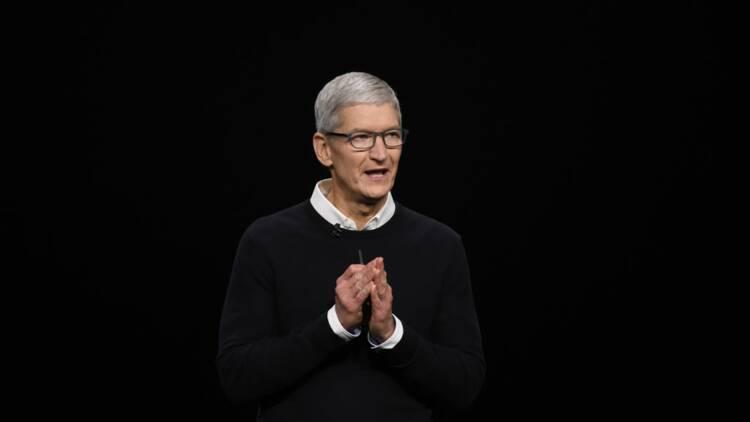 Apple : Tim Cook a gagné moins d'argent en 2019 qu'en 2018