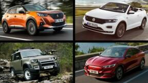 Le calendrier des nouveaux SUV en 2020