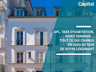 APL, taxe d'habitation, aides travaux… tout ce qui change en 2020 pour votre logement