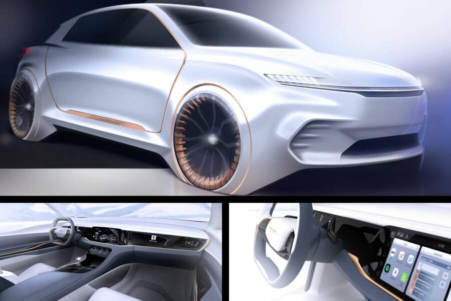 Fiat dévoile un concept-car annonçant le futur