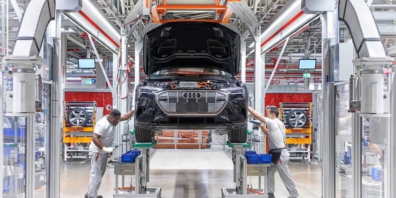 Audi e-Tron : plongée dans son usine futuriste