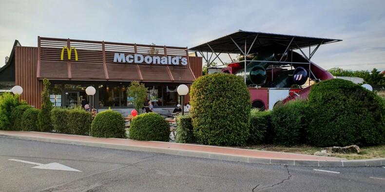 Des kilomètres de bouchons pour atteindre un drive de McDonald's