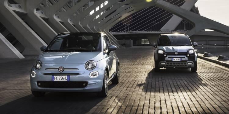 Les Fiat 500 et Panda passent à l'hybride, en attendant l'électrique