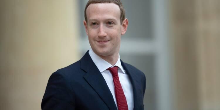 Le patron de Facebook Mark Zuckerberg dévoile sa vision de la société en 2030