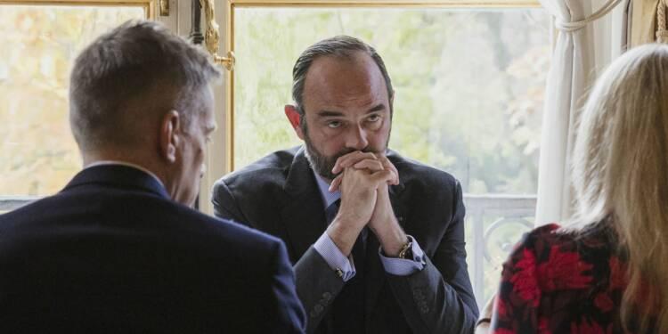 """Retraites : Edouard Philippe en appelle à la """"responsabilité"""" des grévistes"""