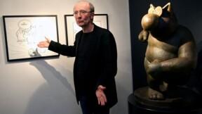 Des chats en bronze vendus une fortune par Philippe Geluck pour ouvrir un musée